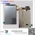 Em estoque!! 100% original display lcd de tela com chassis para nokia lumia 820 preto/prata teste ok + pista