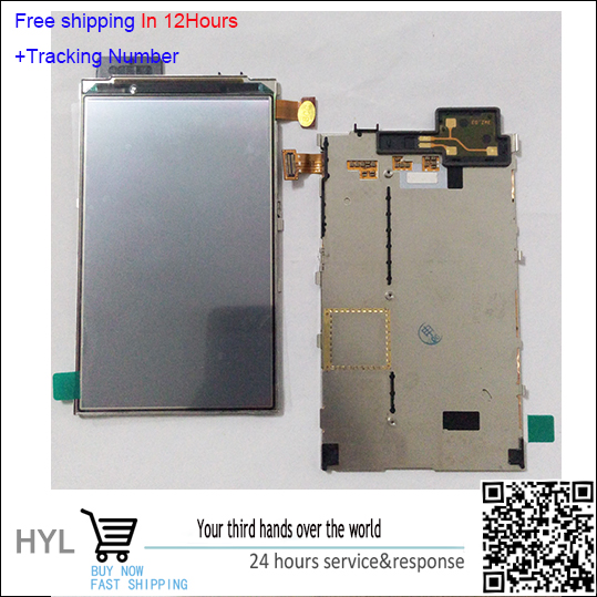 In Stock!!100% Original LCD Display screen With Chassis For Nokia Lumia 820 Black/Silver Test ok+Track