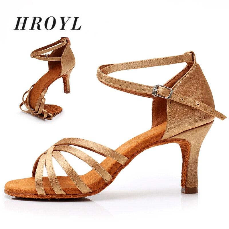 New High Heels Women Latin Dance Shoes 8 Colors Brand For Ladies Girls Tango Shoes Ballroom Dance Shoes Size EU34-42
