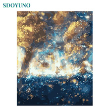 SDOYUNO Painting By Numbers Girl at Storm Center DIY Frame Gift Paint By Numbers For Adults Room Decoration Coloring By Numbers