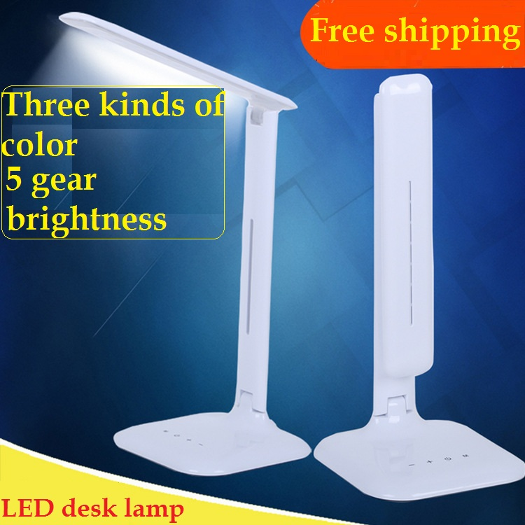 ФОТО LED eye protection student desk lamp folding LED eye protection desk lamp