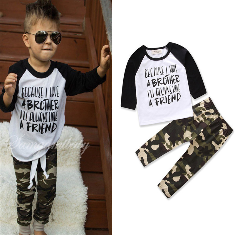 Gaueey Boys Clothing Children Clothing Sets Baby Clothes Infant Boy Kids Shirt Tops+Pants 2PCS Baby Clothing Set Kids Cloth Sets