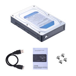 2.5 дюймов до 3.5 дюймов внутренний SATA3 6gbps HDD/SSD адаптер mobile rack с USB3.0 внешний корпус