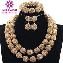 Encantos 2 camadas acessório de jóias de casamento para noivas ouro metal strass conjunto de jóias colar colar africano conjunto we061