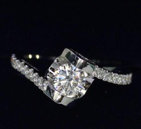 0.5ct 925 bague en argent mariage nupcial de mariee casamento boda diamante anel aneis anillo anneau amoureux de mariage (JSA)0.5ct 925 bague en argent mariage nupcial de mariee casamento boda diamante anel aneis anillo anneau amoureux de mariage (JSA)