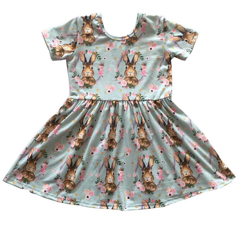 34bb504c0ce3 2019 hot sale boutique Easter days children clothing girl spring summer new  design clothing