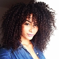 2016 Newest Medium Long afro Kinky Curly wig Synthetic wig for Black Women With Baby Hair lolita wig with Kinky Curl wig Cosplay