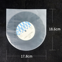 """High quality clear 7"""" EP plastic outer sleeves (25 pcs)"""