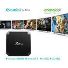 TV box X96mini Android 7.1 X96 mini OS Smart TV BOX S905W Quad Core support 2.4G Wireless WIFI media box Set-Top Box RAM 2G16G
