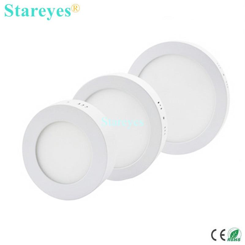1 броя кръг повърхностен монтиран LED - LED осветление