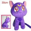 NEW hot 30cm Sailor Moon Luna cat Plush Toys soft Stuffed Doll Christmas gift