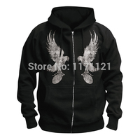 Free Shipping HOLLYWOOD UNDEAD Freeshipping Death Metal Hardcore Men In Black Hoodie