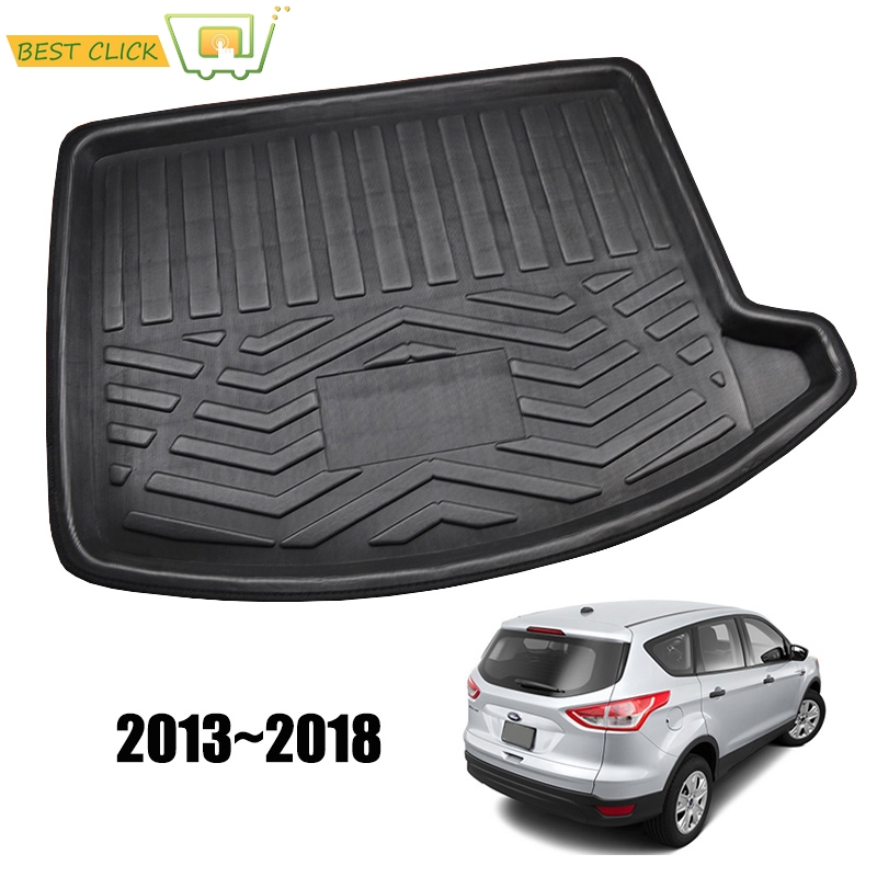 Learned Fit For Ford Escape Kuga 3d 2013-2015 2016 2017 2018 Boot Mat Rear Trunk Liner Cargo Floor Tray Carpet Mud Kick Protector Cover Car Stickers Automobiles & Motorcycles