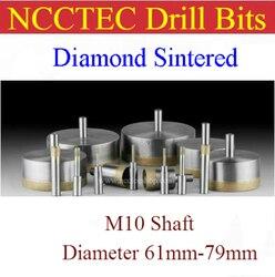 61mm 62mm 63mm 64mm 65mm 66mm 67mm 68mm 69mm 70mm 71mm 72mm 73mm 74mm 75mm 76mm 77mm 78mm 79mm diamond Sintered drill bits