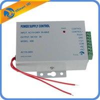 Fuente de alimentación ininterrumpida  CA 110-220V cc 12V 3A  para videoportero  timbre de puerta  sistema de seguridad doméstico + cerradura de estribo eléctrico