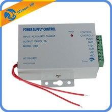 Fuente de alimentación ininterrumpida CA 110 220V cc 12V 3A para videoportero, sistema de seguridad para el hogar con cerradura eléctrica