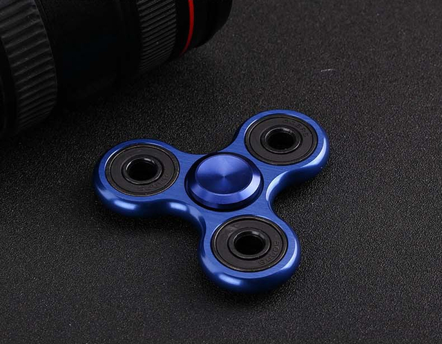 8 cm Metal Fidget Spinner