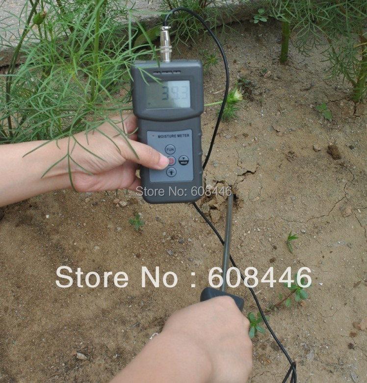 Hygrometers New Digital Soil cement sable poudre de gypse Moisture Meter tester 0-50% humidity недорго, оригинальная цена