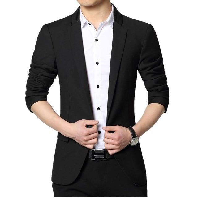 2016 Homens jaqueta de Roupas terno novo Traje Homme Casaco Blazer Masculino Homens Marca de Moda Blazer masculino Vestido Terno Jaqueta