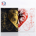 Set of 2 Love Art Deck Gold & Red Limited Edition Playing Card Decks New Valentine's Day Cards Gifts Magic Tricks Magic Toys