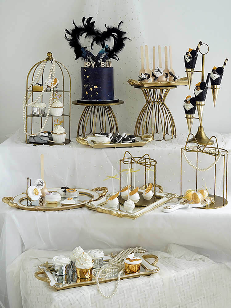 restauration idée pour décorer votre fete table avec ce stand gâteau Bois de tarte
