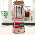 Creative multifunctional coat rack clothes hanger landing Fashion home simple mobile dryer