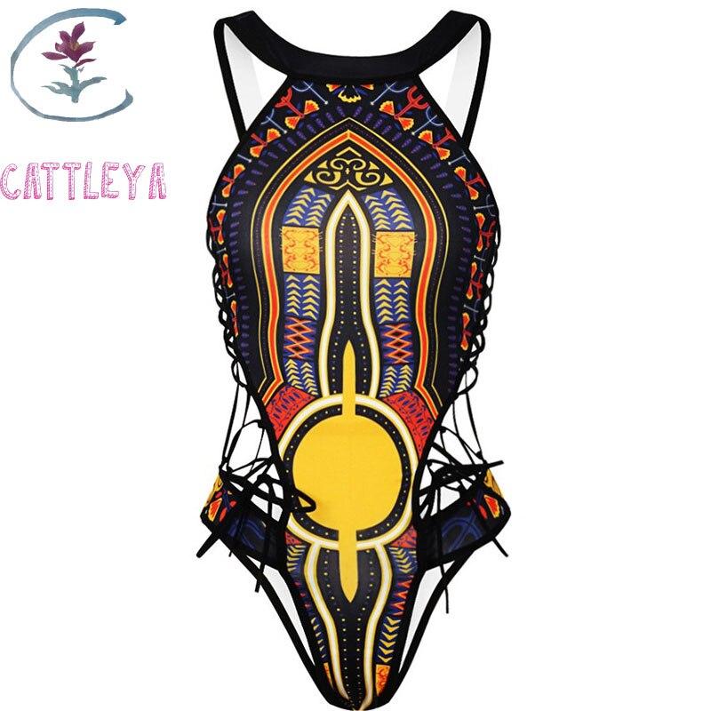 Yoga Socks Cattleya African One Piece Swimsuit 2018 Dashiki Print Swimwear Women High Cut Trikini Thong Monokini Brazilian Cq 1839 Diversified Latest Designs