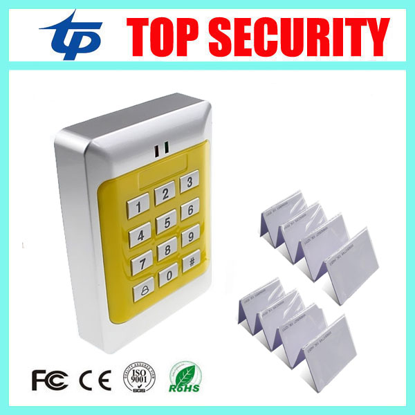 Special Price Free shipping+10 rfid tag+RFID Proximity Card Access Control System RFID/EM Keypad Card Access Control Door Opener remonte женская