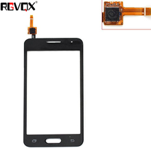New Touch Screen For Samsung Galaxy Core 2 SM-G355H G355H G355 Digitizer Front Glass Lens Sensor Panel чехол для для мобильных телефонов oem 1 bling samsung core 2 g355h for samsung galaxy core 2 g355h