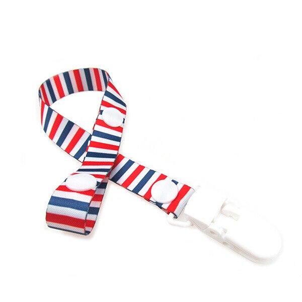 Новая прищепка для соски цепь лента держатель Chupetas крепления для укачивания, успокаивающего приспособления поводок ремень держатель соски для кормления младенцев BNZ03 - Цвет: 13