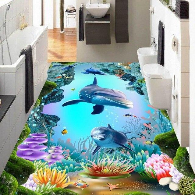 Freies Verschiffen HD 3D Unterwasserwelt Cave Tropische Fische ...