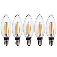 5 Pz E14 Led di Nuovo Disegno 3 Wát AC 220 V LED Một Incandescenza Risparmio energetico Sostituire Ad Incandescenza lampadina