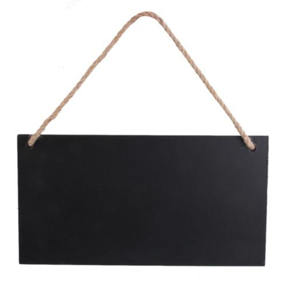 ZHUTING Hint board decorative board for a variety of places hanging rectangular wooden blackboard message board family vibration of orthotropic rectangular plate