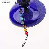 Eternal purple Lucky Stone peaceful round for enthusiastic women Colourful Bohemia careful weave anklet for charity