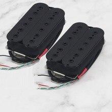 Fleor Alnico 5 Humbucker Pickup Elektrische Gitaar Pickup Black Neck/Bridge Pickup Kiezen Voor Gitaar Onderdelen Accessoires