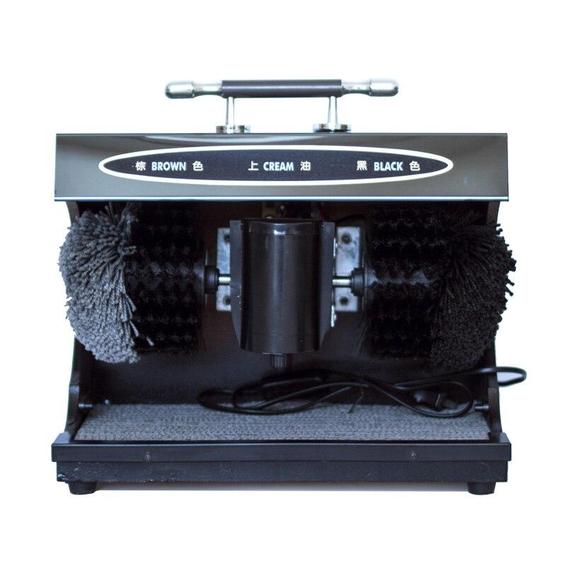 Household Fully Automatic Shoe Polisher Hotel Lobby Leather Shoes Induction Shoe Polisher Electric Brush Shoes Machine