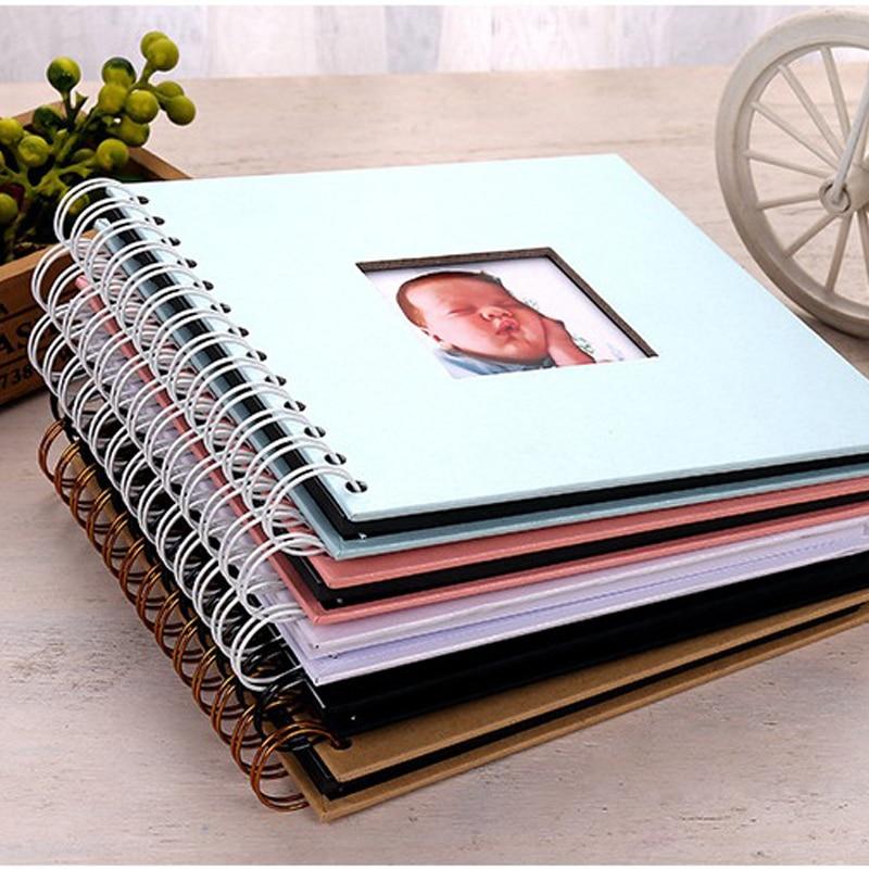 20 Pages DIY Fotoalbum Photoalbum Kids Memory Book Paper Photo Album De Fotografia Baby Scrapbooking Fotograf Album