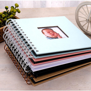 Baby Scrapbooking Paper Photo Album De Fotografia Fotograf Albumu Kids Memory Book Portafoto Plakboek DIY Fotoalbum Photoalbum(China)
