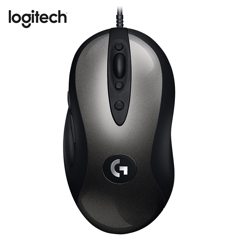Logitech MX518 Legendary Gaming Mouse Wired Mouse with 16000 DPI HERO Sensor Legend Reborn for Fever