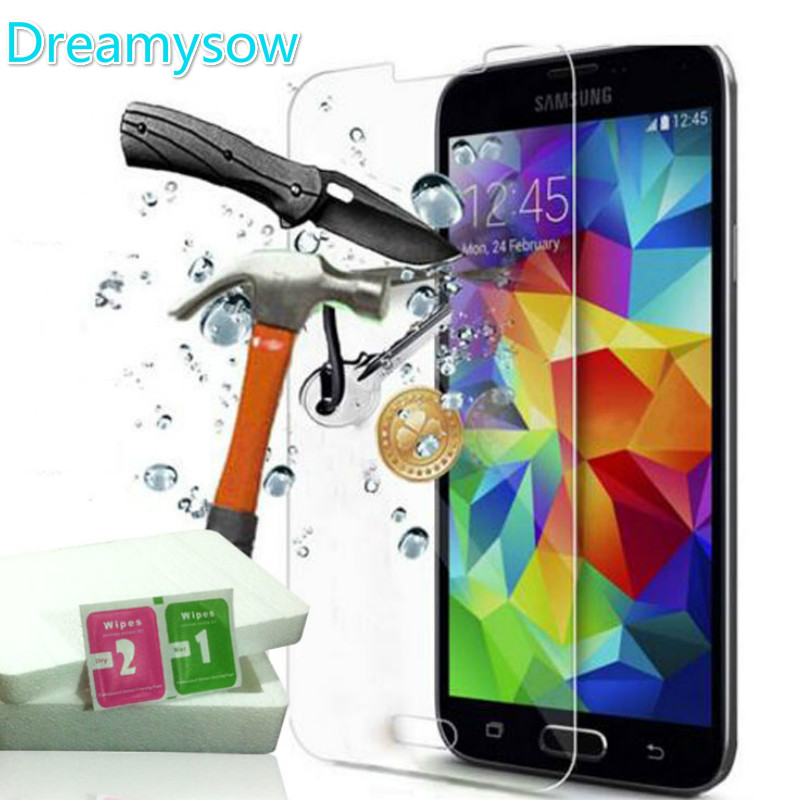 Dreamysow For Samsung Galaxy J1 J3 J5 J7 2016 Tempered Glass 2015 A3 A5 A7 J2 Anti Shatter Touch Screen Protector 2.5D Film