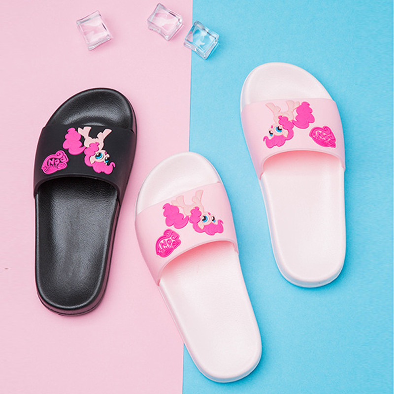e46ef9266 unicorn Children Beach slippers kids Sea Flip Flops Sandals for Girls Boys  swimming slipper child home shoes Water Shoes