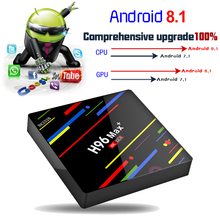 TV Box Rockchip Android 8,1 4K 3D