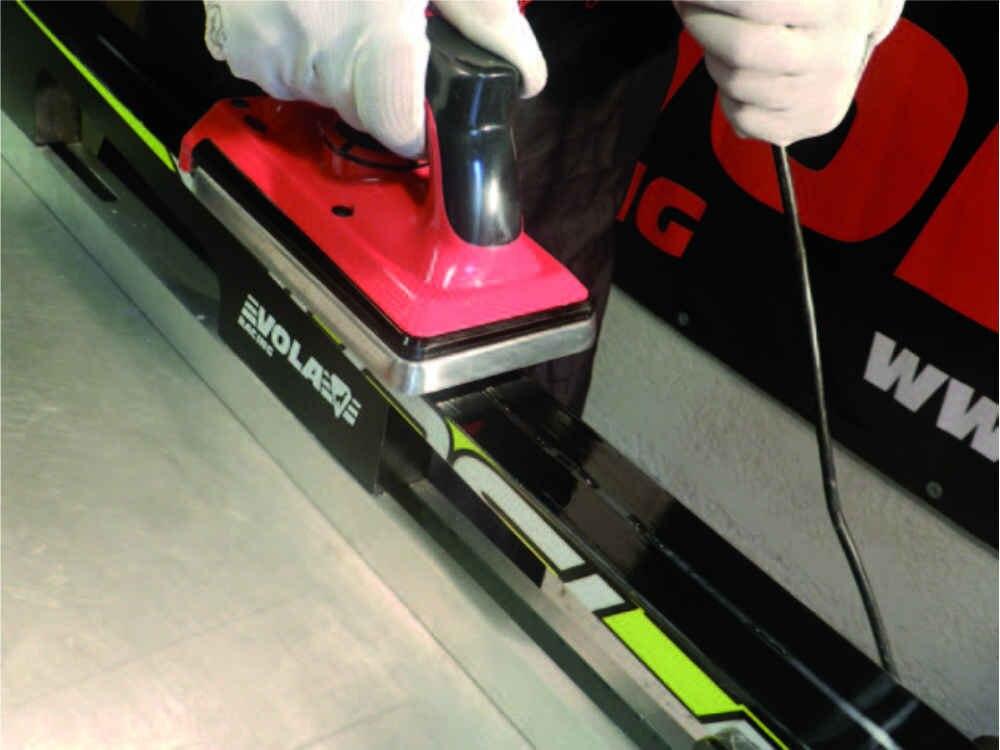Инструмент для нанесения воска на лыжи и сноуборд, 120 В, 800 Вт или 230 В, 1000 Вт