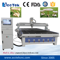 China Cheap 3d Milling Machine AKM2040 2030 Carved Furniture Legs 4 Axis Cnc Router Engraver
