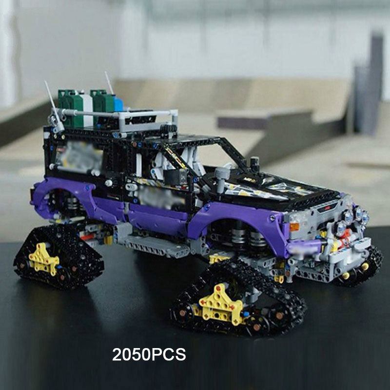 Hot technician technics extreme adventure 2in1 building block model Tracked vehicle bricks 42069 toys collection for kids gifts technics technics rp dj1215e s