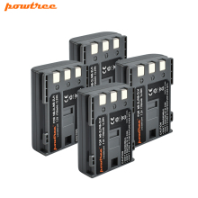 4x 1700mAh Li-ion NB-2L NB 2L NB2L NB-2LH Camera Rechargeable Battery for CANON 350D 400D G7 G9 S30 S40 EOS Powershot L15