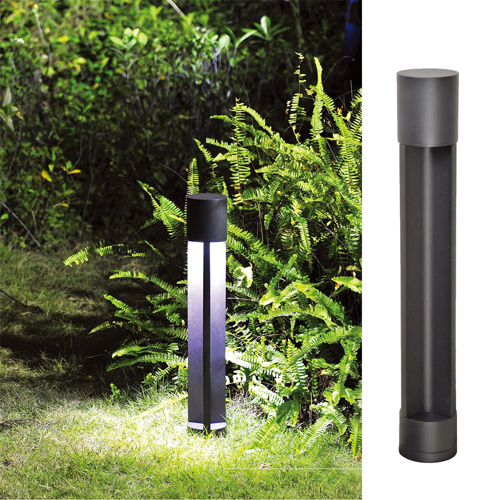newest design standing led garden light up and down lighting cob led led lawn light outdoor ip65 waterproof landscape yard lamp