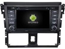 """Подходит для 6.2 """"Toyota Yaris 2014 2015 800 * 480lcd Quad Core Android 7.1 Автомобильный GPS dvd-плеер навигации авторадио 3G Бесплатная карта камеры"""