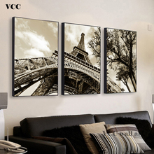 Paris Eiffel Tower Painting Canvas Picture,Oil Painting,Wall Art Poster,Wall Pictures For Living Room,Wall Decor