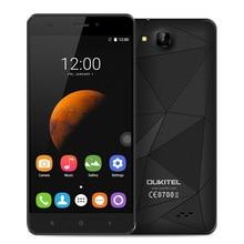 "Original Oukitel C3 Android 6.0 Handy MTK6580 Quad Core 1G RAM 8G ROM Smartphone1280 * 720 5,0 ""HD 3G WCDMA Handy"